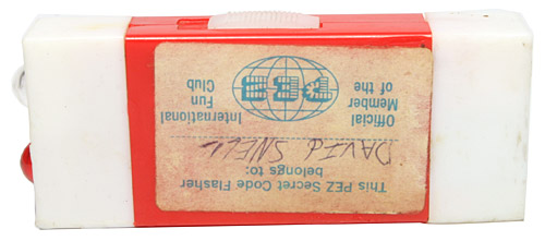 PEZ - Miscellaneous (Non-Dispenser) - Secret Code Flasher