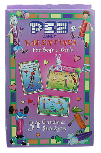 PEZ - Miscellaneous (Non-Dispenser) - Valentines for Boys & Girls