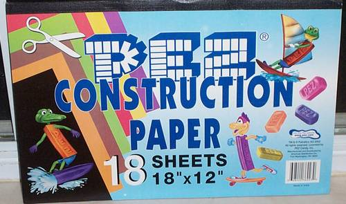 PEZ - Miscellaneous (Non-Dispenser) - Construction Paper (Large)
