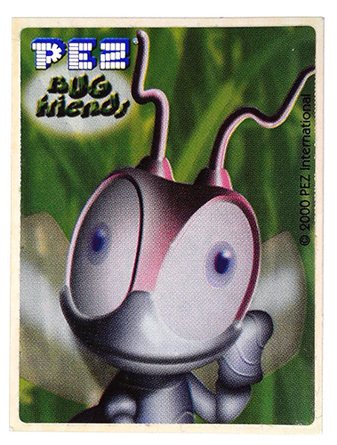 PEZ - Stickers - Bug Friends - Ant (face)