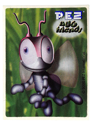 PEZ - Stickers - Bug Friends - Ant (whole)
