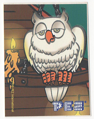 PEZ - Stickers - Glowing Ghosts - Owl