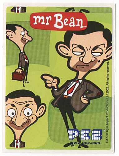 PEZ - Stickers - Mr. Bean - Mr. Bean