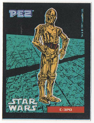 PEZ - Stickers - Star Wars - C-3PO