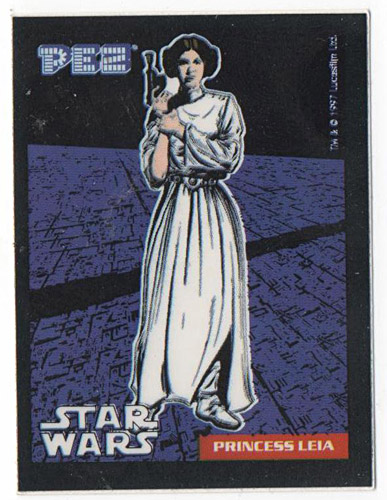 PEZ - Stickers - Star Wars - Princess Leia