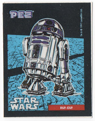 PEZ - Stickers - Star Wars - R2-D2