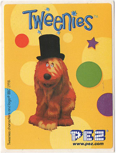 PEZ - Stickers - Tweenies - Doodles