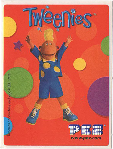 PEZ - Stickers - Tweenies - Jake