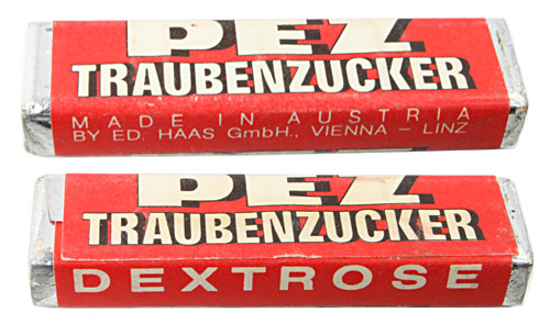 PEZ - Less Common Types - Traubenzucker - Traubenzucker - LC 07
