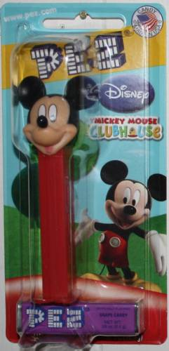 PEZ - Disney Classic - Mickey Mouse Clubhouse - Mickey Mouse - I