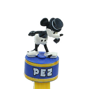 PEZ - Disney Classic - Mickey Mouse Progressive - Mickey 1928