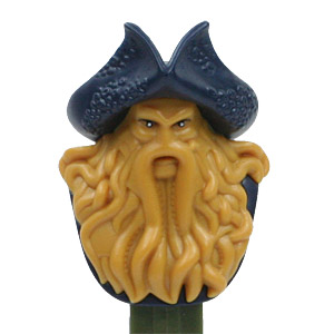 PEZ - Disney Movies - Pirates of the Carribean - Davey Jones