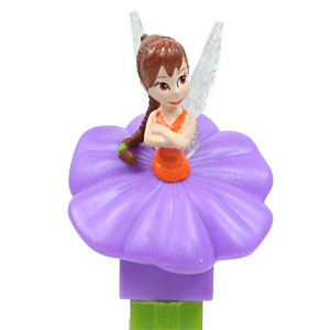 PEZ - Disney Classic - Fairies - Fawn - purple flower, no lines