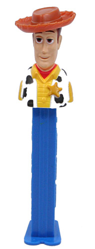 PEZ - Toy Story - Toy Story 2 - Woody - spot under sheriff star - A