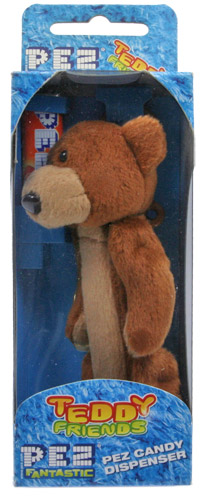 PEZ - Plush Dispenser - Teddy Friends - Sweet Dandy