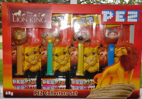 PEZ - Disney Movies - Lion King - Collectors Set