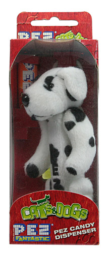 PEZ - Plush Dispenser - Cats & Dogs - Scott the Spot