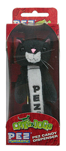 PEZ - Plush Dispenser - Cats & Dogs - Baby Black