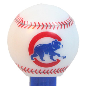 PEZ - Sports Promos - MLB Balls - Ball - Chicago Cubs - B