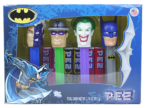 PEZ - Super Heroes - Batman and Villains - Collectors Set