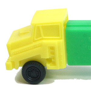 PEZ - Trucks - Series D - Cab #R2 - Yellow Cab - B