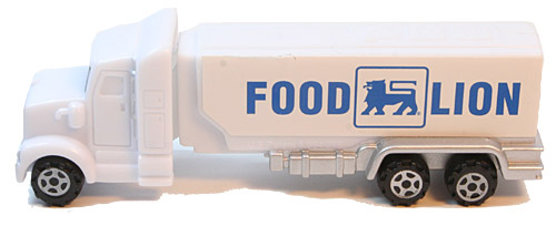 PEZ - Trucks - Advertising Trucks - Food Lion - Truck - White cab
