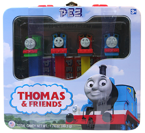 PEZ - Animated Movies and Series - Thomas and Friends - Tin set