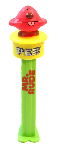 PEZ - Mr. Men - Click'n'Play - Mr. Rude