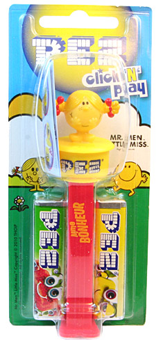 PEZ - Mr. Men - Click'n'Play - Little Miss Sunshine