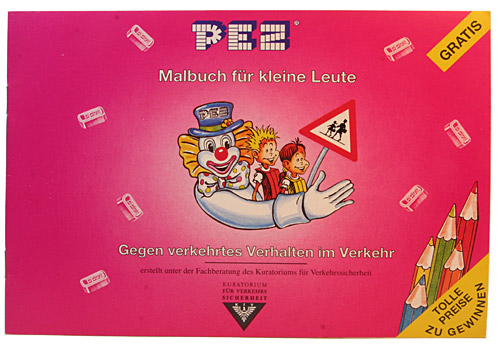 PEZ - Books - Malbuch (painting book)