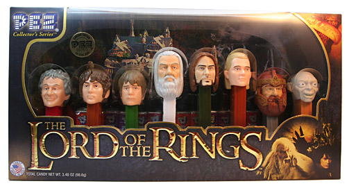 PEZ - Lord of the Rings - Lord of the Rings - Collectors Set