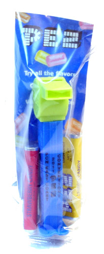 PEZ - Convention - PCN - 2011 - Coach Whistle - Yellow