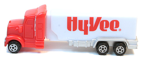 PEZ - Trucks - Advertising Trucks - HyVee - Truck - Red cab