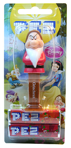PEZ - Snow White and the Seven Dwarfs - French - Grincheux