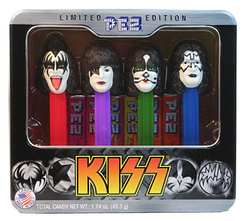PEZ - Famous People - Kiss - Tin set