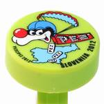 PEZ - Puck Light Green Blue Helmet