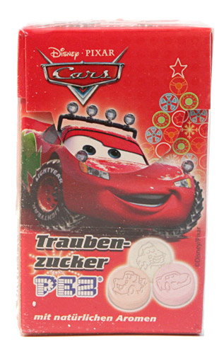 PEZ - Dextrose Packs - Cars Xmas