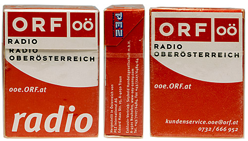 PEZ - Dextrose Packs - Advertising Packs - ORF OÖ radio