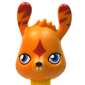 PEZ - Animated Movies and Series - Moshi Monsters - Katsuma