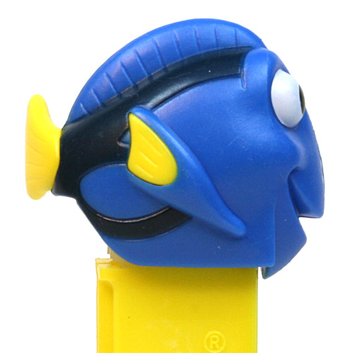 PEZ - Finding Nemo / Dory - Finding Nemo - Dory - light spots on nose