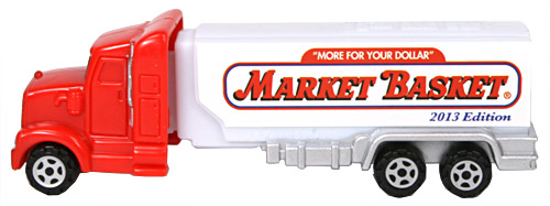 PEZ - Advertising Market Basket - Truck - Red cab