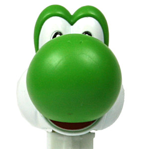 PEZ - Animated Movies and Series - Nintendo - Yoshi - B