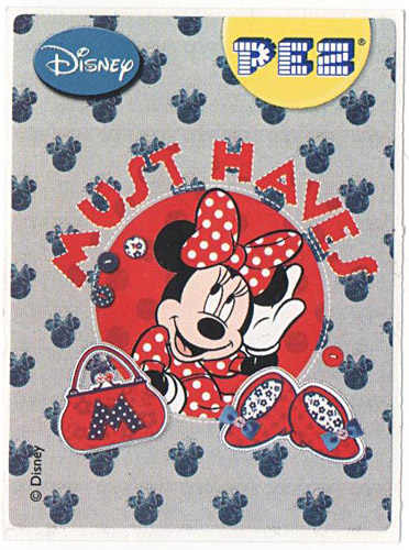 PEZ - Stickers - Mickey & Minnie - Minnie - must haves