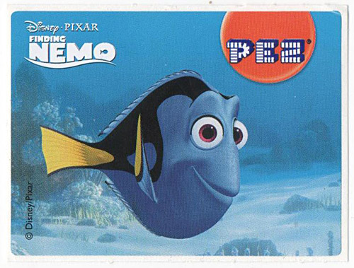 PEZ - Stickers - Nemo - Dori smiling