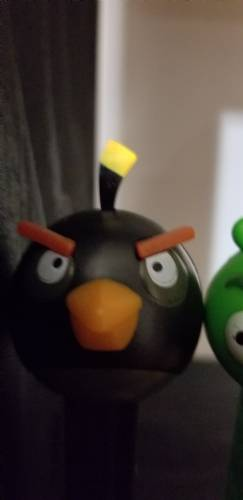 PEZ - Animated Movies and Series - Angry Birds - Black Bird - A