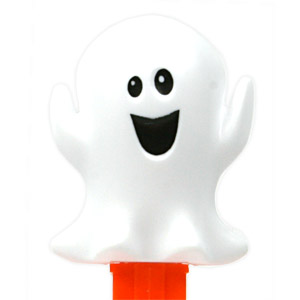 PEZ - Halloween - Friendly ghost - with pupils