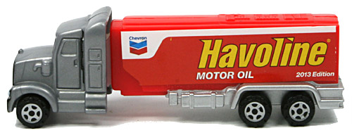 PEZ - Advertising Havoline - Truck - Silver cab, red truck
