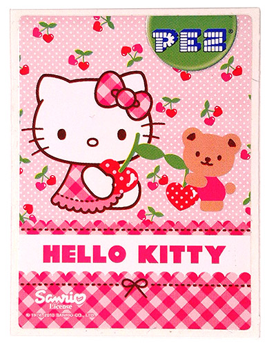 PEZ - Stickers - Hello Kitty - 2013 - Teddy Bear