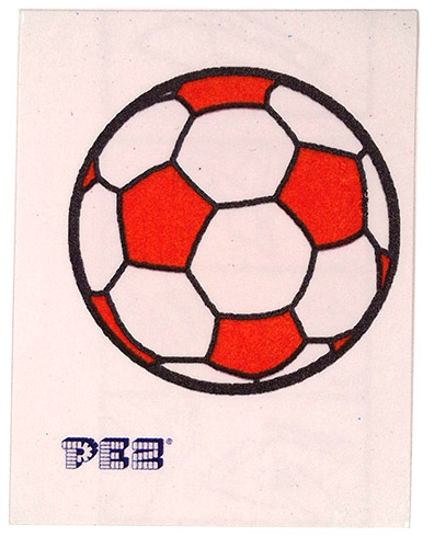 PEZ - Stickers - Soccer - Soccer Ball