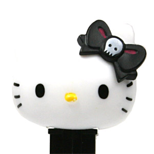 PEZ - Japan PEZ Gathering - 1st - Hello Kitty - Skull in black bow